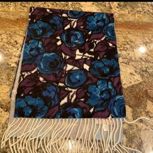 100 % Cashmere scarf.  Nordstrom's.  New
